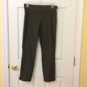 Pants - Olive green Van Heusen stretch Extensible Pants